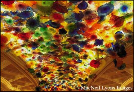 Bellagio Lights - Copyright MacNeil Lyons Images
