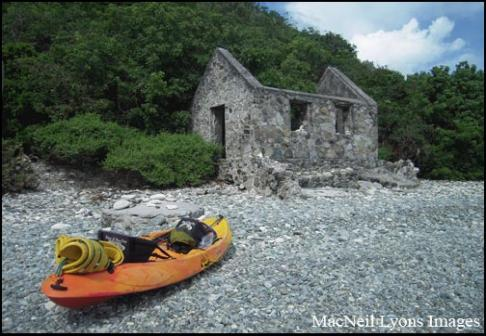 Customs House & Kayak - Copyright MacNeil Lyons Images