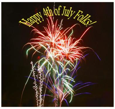 Happy 4th of July - Copyright MacNeil Lyons Images