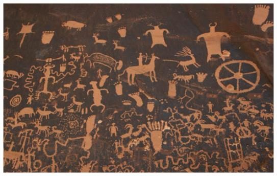 Newspaper Rock - Copyright MacNeil Lyons Images