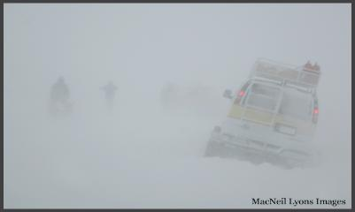 White Out on Swan Lake Flats - Feb 02, 2008